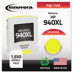 Innovera 4909AN Compatible, Remanufactured, C4909AN (940XL) Ink, 1400 Page-Yield, Yellow