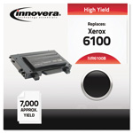 Innovera 6100B Compatible High-Yield Toner, 7,000 Page-Yield, Black