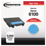 Innovera Remanufactured 106R00680 (6100) High-Yield Toner, Cyan