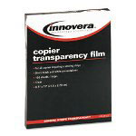 Innovera Clear Transparency Film For Plain Paper Copiers With Removable Sensing Stripe