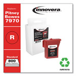 Innovera Inkjet Print Cartridge for Pitney Bowes Postmeter 7970 (797 0 compatible) Red