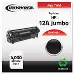 Innovera 83012X Compatible Reman High-Yield Toner, 3,200 Page Yield, Black