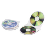Innovera CD/DVD Storage Cases Polypropylene Sea Shell Case, Clear, 25/Pack