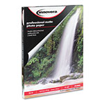 Innovera Heavyweight Photo Paper, 8-1/2 x 11, 50 Sheets/Pack