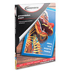 Innovera Presentation Paper, 8-1/2 x 11, 50 Sheets/Pack