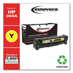 Innovera C532A Compatible, Remanufactured, CC532A (304A) Laser Toner, 2800 Yield, Yellow