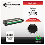 Innovera D3115B Compatible High-Yield Toner, 8000 Page-Yield, Black