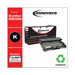 Innovera Black Compatible Remanufacturered Toner Cartridge Model DR350 Page Yield 12000