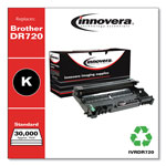 Innovera Remanufactured DR720 Imaging Drum, 30000 Page-Yield, Black