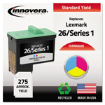Innovera Tri-Color Compatible Remanufactured Ink Cartridge Model 10N0026 Page Yield 275