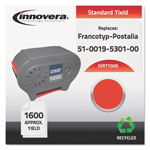 Innovera T1000 Compatible Reman 51-0019-5301-00 (T-1000) Ink,1600 Page-Yield, Red