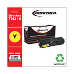 Innovera TN315Y Compatible Reman Toner, High Yield, 3500 Page-Yield, Yellow