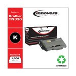Innovera Black Compatible Remanufacturered Toner Cartridge Model TN330 Page Yield 1500