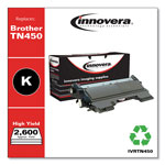 Innovera TN450 Compatible Reman Toner, High Yield, 2600 Page-Yield, Black