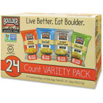Boulder Canyon Potato Chip Variety Pack, 1.5oz. Bags, 24/CT
