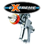 Iwata LPH400-144LVX eXtreme Basecoat Spray Gun with 700ml Cup
