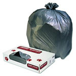 Jaguar Plastics Low-Density Can Liner, 40 x 46, 45-Gallon, 1.1 Mil, Gray, 100/Case