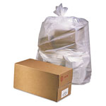 "Jaguar Plastics Clear Flat-Bottom Trash Bags, 2.5 Mil, 38"" X 65"", Case of 50"