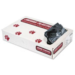 Jaguar Plastics Low-Density Can Liners, 10gal, .35mil, Black, 500/Carton