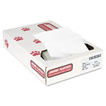 "Jaguar Plastics White Flat-Bottom Trash Bags, 30 Gallon, 0.70 Mil, 30"" X 36"", Carton of 200"