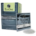 Java One™ Single Cup Tropical Citrus Green Tea Pods