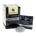 Java Trading Company 70400 French Vanilla Coffee Pod, Arabica Beans with Vanilla