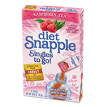 Snapple Iced Tea Singles To-Go, Diet Raspberry Tea, 0.68 oz Stick, 6/Box