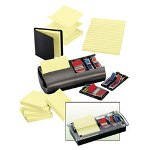 3M Pop Up Note/Flag Dispenser Starter Kit, Professional Dispenser