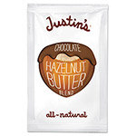 Justin's Chocolate Almond/Hazelnut Butter, 1.15 oz Squeeze Pack, 10/Box