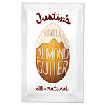 Justin's Vanilla Almond Butter, 1.15 oz Squeeze Pack, 10/Box