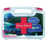 Johnson & Johnson Emergency Fist Aid Kit, 110 Items, w/ Carrying Case