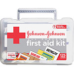 Johnson & Johnson All-Purpose First Aid Kit, 125-Pieces, Plastic Case