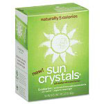 Sun Crystals® All-Natural Sweetener, 1.3 g, 50 Packets/Box
