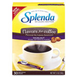 Splenda® Hazelnut Sweetener, No Calorie, 30/BX