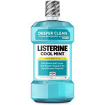 Johnson & Johnson Cool Mint Listerine Antiseptic Mouthwash, 1.5L
