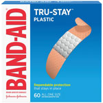Johnson & Johnson Adhesive Bandages, Plastic, 3/4, All One Size, 60/BX