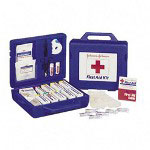 Johnson & Johnson Weatherproof First Aid Kit for Up to 25 People, 160 Pieces