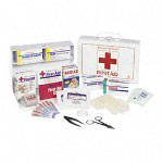 Johnson & Johnson Nonmedicinal First Aid Kit for Up to 25 People, 87 Pieces