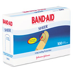Band Aid 4634 Sheer Adhesive Strips