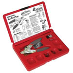 "Just Clips Deluxe Snap Ring Tool Kit For 1/4"", 3/8"" & 1/2"""
