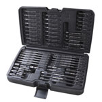 JS SteelmanPRO Impact Grade Bit Drivers, 50 Piece Set With Case