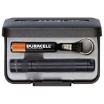 Maglite® Solitaire Flashlight Gift Box, Black