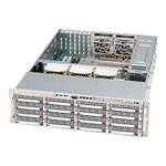 Supermicro SC836 E1-R800V - Rack-mountable - 3U - Extended ATX