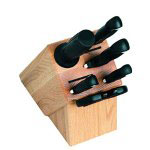 Kershaw 9900 Series Kitchen Block Set,6 Pcs + Block, Polymer Handle
