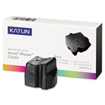 Katun 37978 Compatible Solid Ink Stick, 3,400 Page-Yield, Black, 3/Pk
