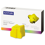 Katun Ink Sticks, 3, 400 Page Yield, Yellow