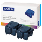 Katun Cyan Compatible Remanufacturered Toner Cartridge Model 39395 Page Yield 4400