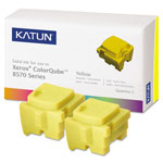 Katun Yellow Compatible Remanufacturered Toner Cartridge Model 39399 Page Yield 4400