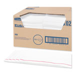 WypAll* X50 Foodservice Towels, 1/4 Fold, 23 1/2 x 12 1/2, White, 200/Carton