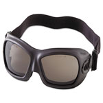 Jackson Safety* V80 WildCat Safety Goggles, Black Frame, Smoke Lens